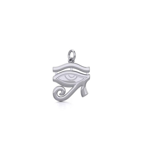 Beyond the symbolism of the Eye of Horus Silver Charm TCM671 peterstone.