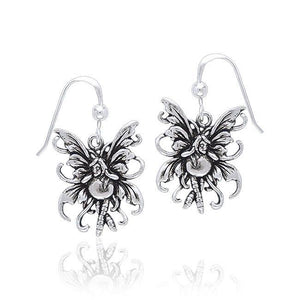 Amy Brown Bubble Rider Fairy Earrings TE2075 peterstone.