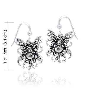 Amy Brown Bubble Rider Fairy Earrings TE2075