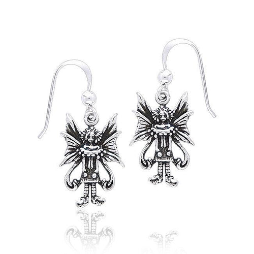Amy Brown Caffeine Overload Fairy Earrings TE2076 peterstone.
