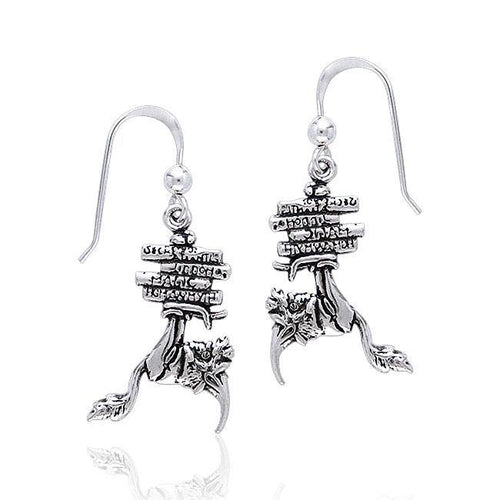 Amy Brown Bookworm Earrings TE2077 peterstone.