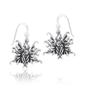 Amy Brown Blue Fairy Earrings TE2078 peterstone.