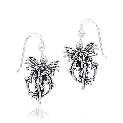 Amy Brown Fire Fairy Earrings TE2080 peterstone.