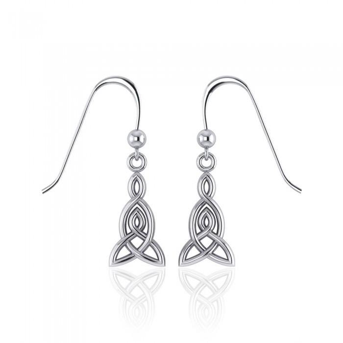 Celtic Knotwork Silver Earrings TE2870