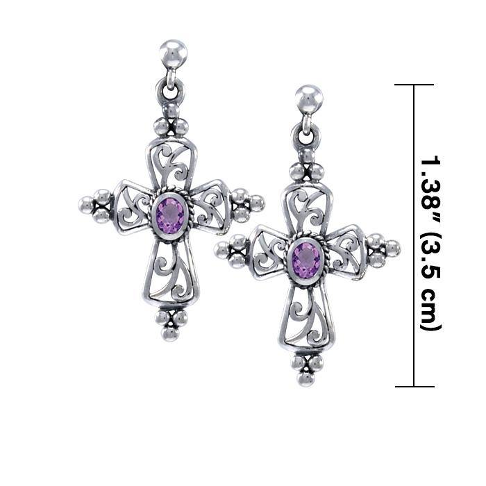 Fashion Cross Earrings TER1240