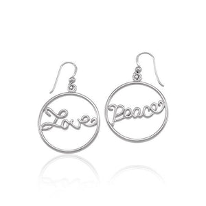 Love and Peace Earrings TER1274 peterstone.