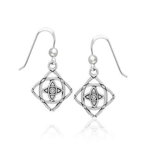Mandala Sterling Silver Earrings TER1395