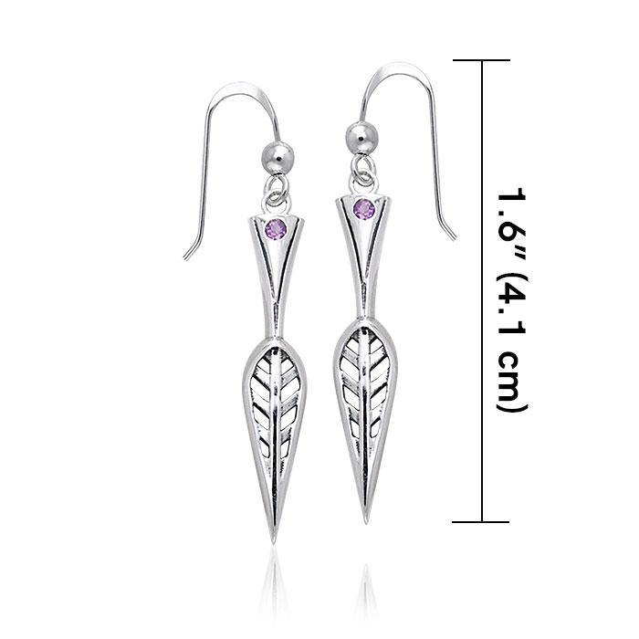 Art Deco Silver Earrings TER152