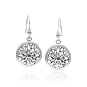 Tree of Life The Star Triple Moon Earrings TER1584 peterstone.