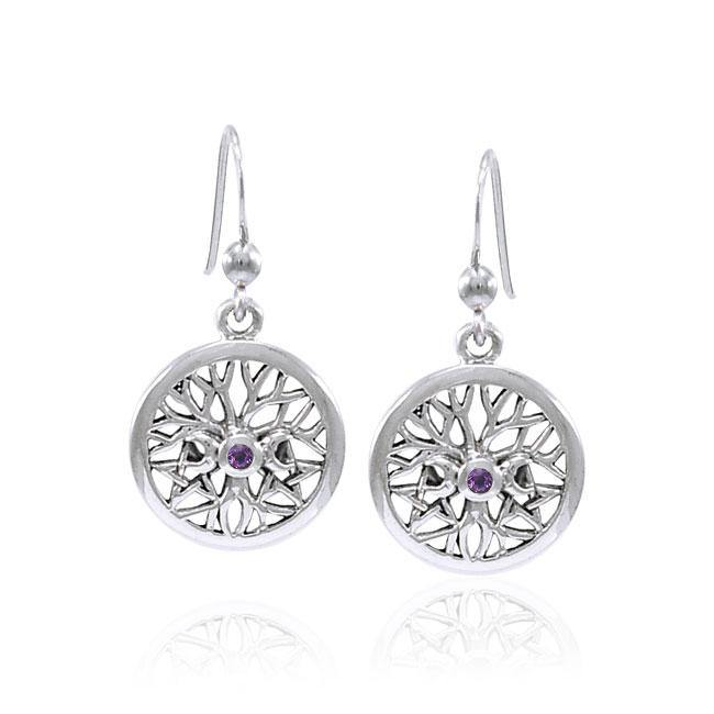 Tree of Life The Star Triple Moon Earrings TER1584