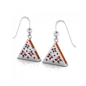 Butterfly Aromatherapy Sterling Silver Earrings TER1666 peterstone.