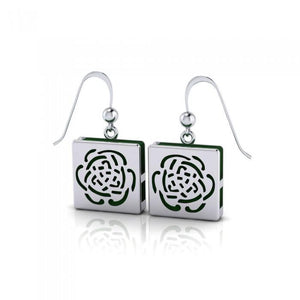 Rose Aromatherapy Sterling Silver Earrings TER1670