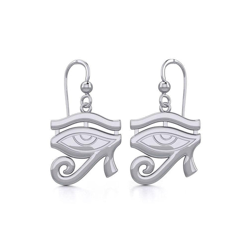 Beyond the symbolism of the Eye of Horus Silver Earrings TER1892 peterstone.