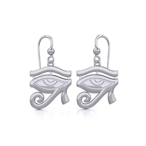 Beyond the symbolism of the Eye of Horus Silver Earrings TER1892