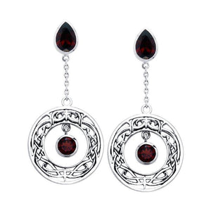 Viking Shield Earrings TER539