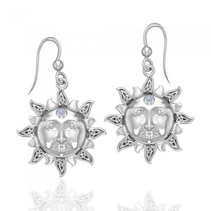 Celtic Sun Earrings TER567