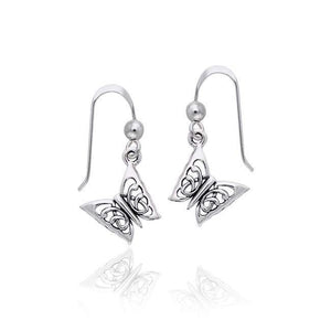 Butterfly Sterling Silver Earrings TER991