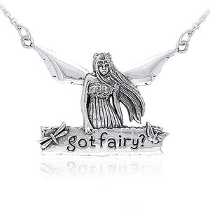 Got Fairy Silver Necklace TNC005 peterstone.