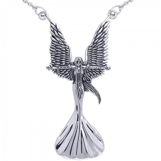 Angel Calling The Storm Necklace TNC019 peterstone.