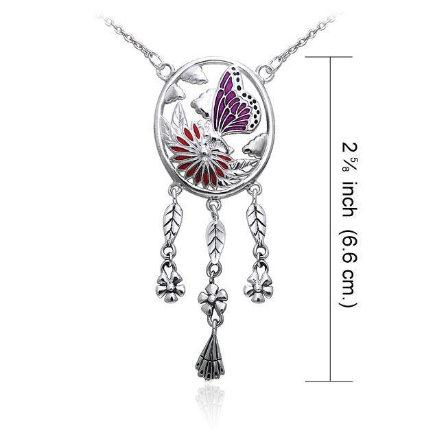 Ted Andrews Butterfly Necklace TNC051