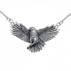 Ted Andrews Eagle Necklace TNC052 peterstone.