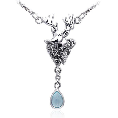 Deer Sterling Silver Necklaces TNC069 peterstone.