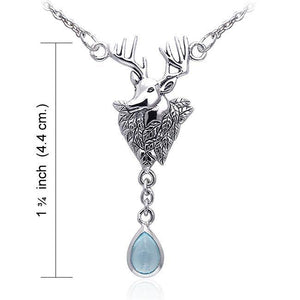 Deer Sterling Silver Necklaces TNC069