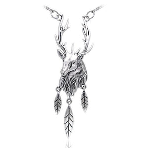 Ted Andrews Deer Stag Necklace TNC071 peterstone.