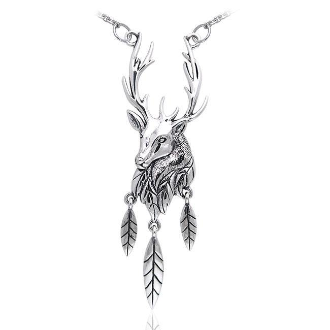 Ted Andrews Deer Stag Necklace TNC071