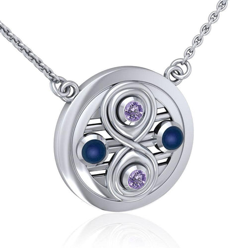 Relationship Necklace with Gemstone TNC157