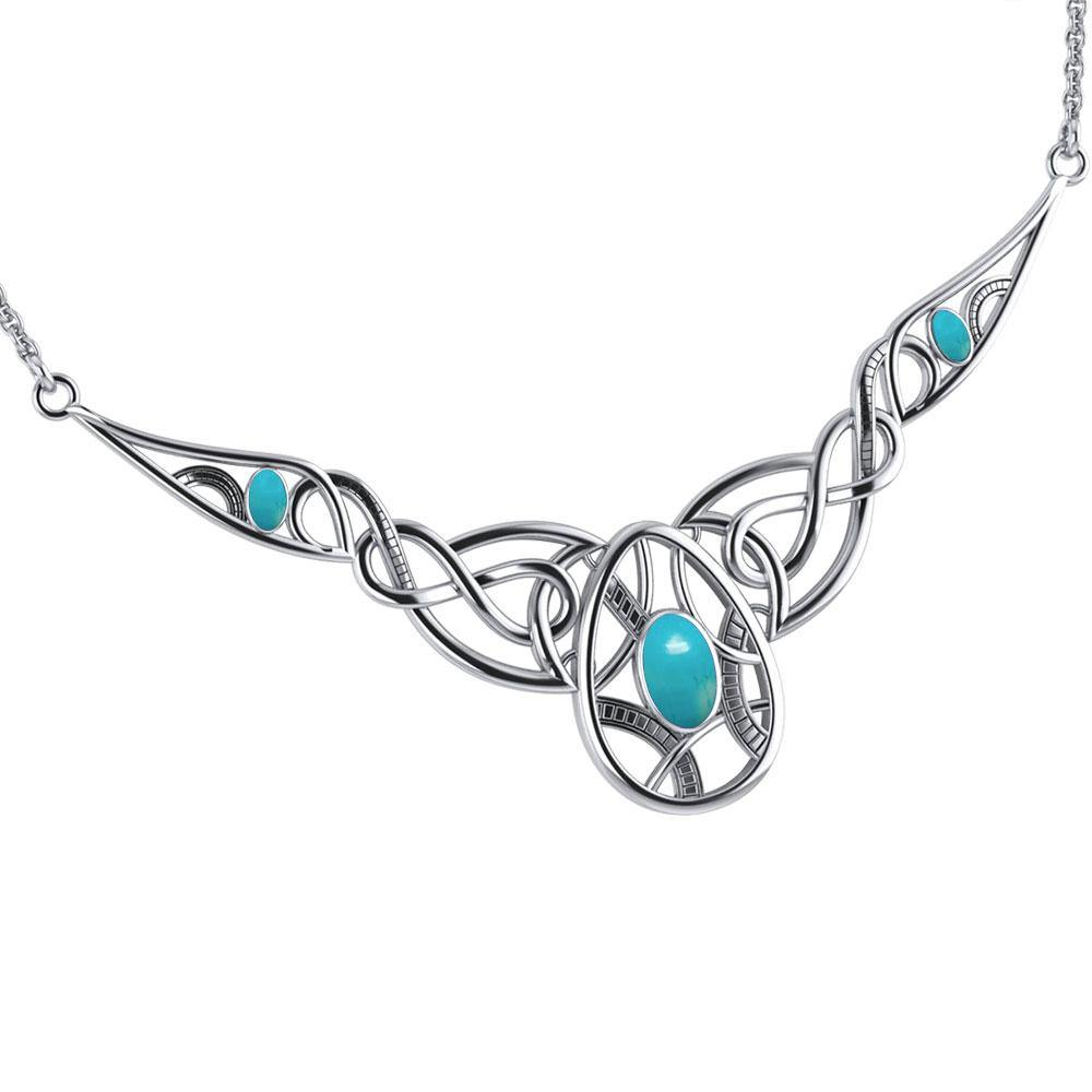 Infinite Rebirth Silver Necklace TNC332