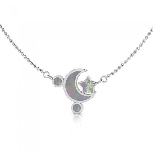 Moon Star Necklace TNC411P peterstone.