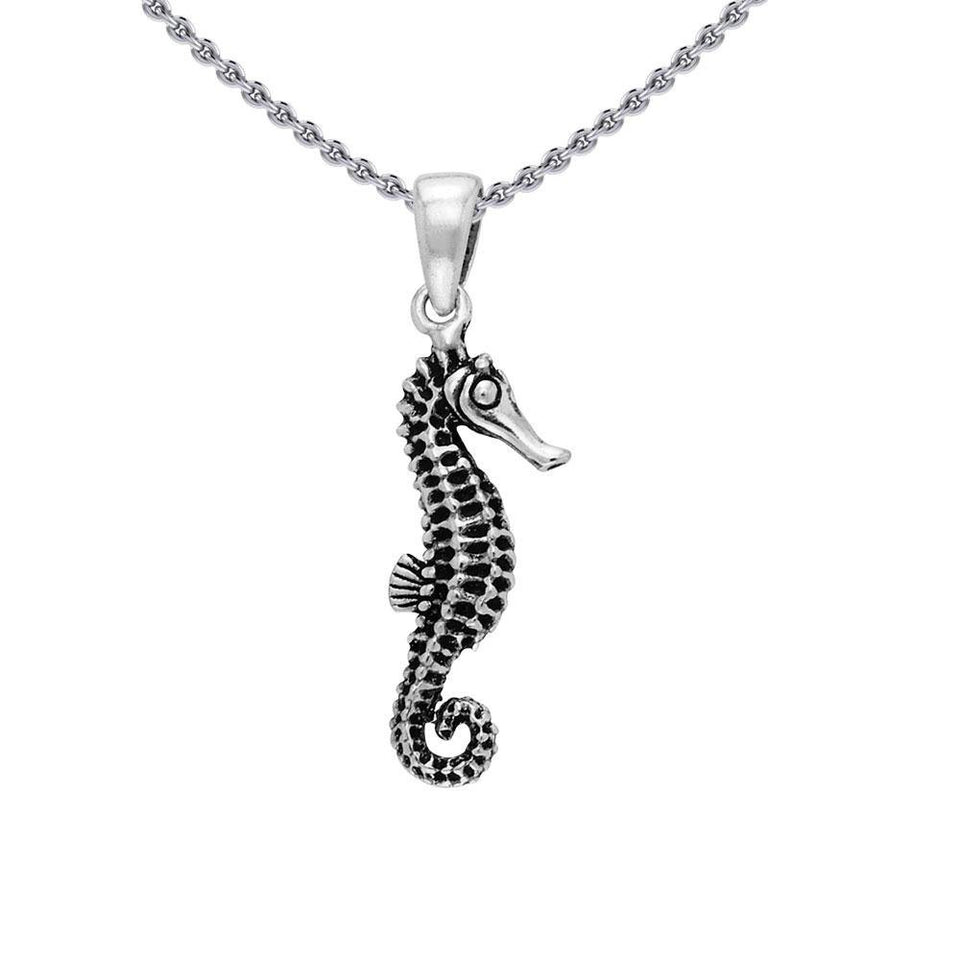 Sea Horse Sterling Silver Pendant TP2324 peterstone.