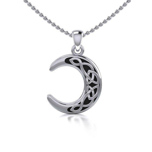 Magick Moon Silver Pendant TP2963 peterstone.