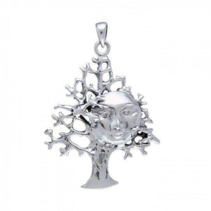 Full Moon Tree Pendant TP3227