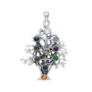Kabbalah Tree Of Life Pendant TP3302 peterstone.