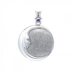 Jessica Galbreth Mother Moon Pendant TPD001 peterstone.