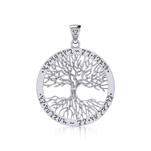 Mickie Mueller Theban Tree of Life Pendant TPD1043 peterstone.