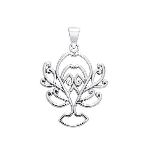 Tree of Life Silver Pendant TPD1092 peterstone.