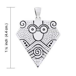 An art of exception ~ Viking Borre Sterling Silver Pendant Jewelry TPD1131