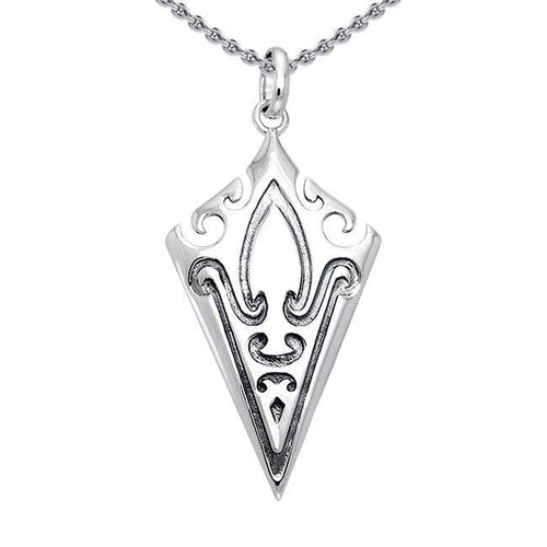 Honor thy Vikings ~ Mammen Sterling Silver Pendant Jewelry TPD1205 peterstone.