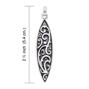 Tendrils Sterling Silver Pendant TPD1317