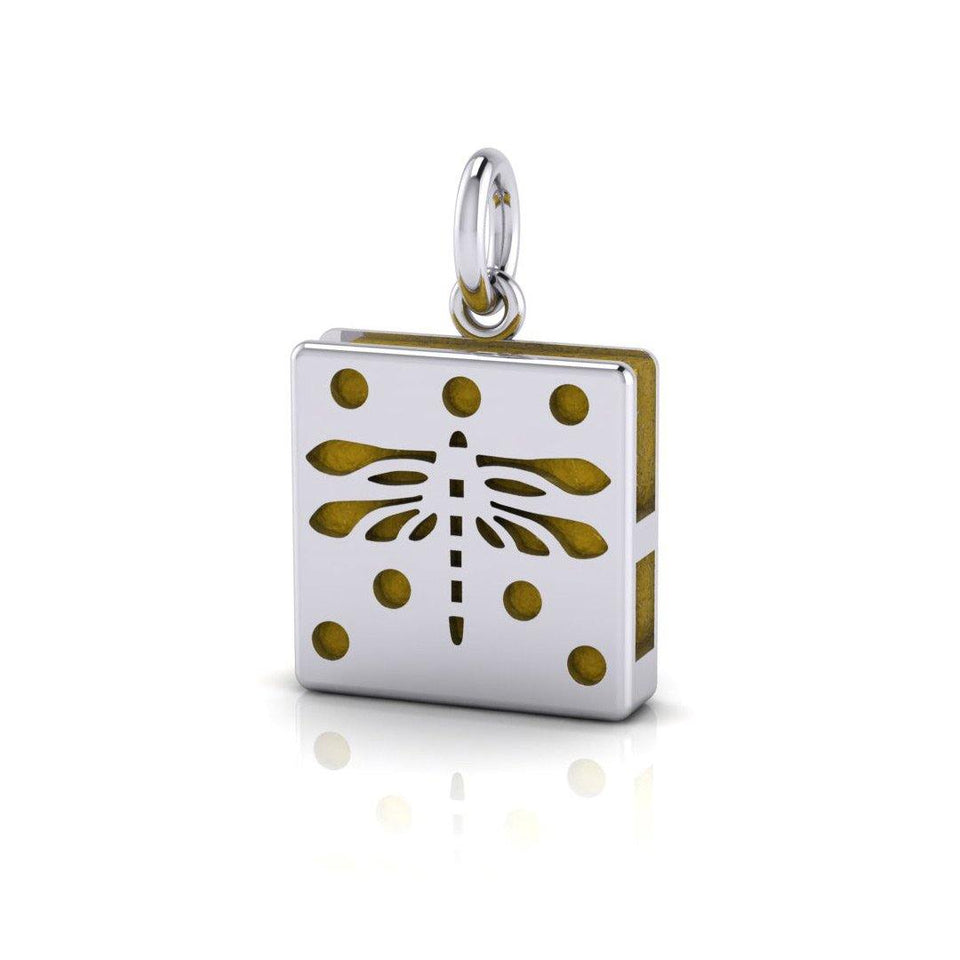 Break Away with the Dragonfly ~ An Aromatherapy Pendant TPD1408 peterstone.