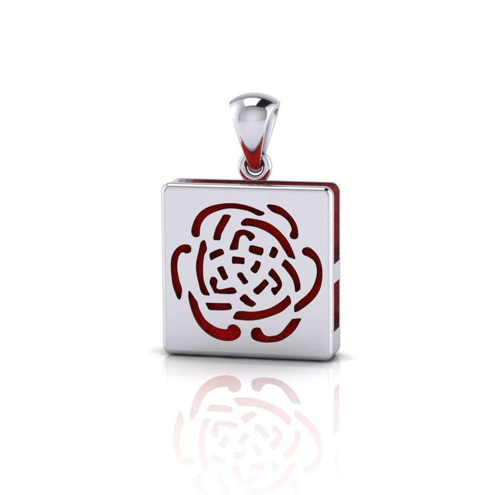 Rose Aromatherapy Pendant TPD1409