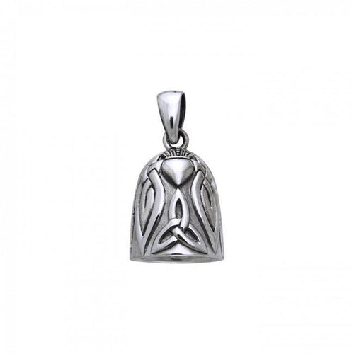 Celtic Knot Claddagh Bell Pendant TPD256 peterstone.