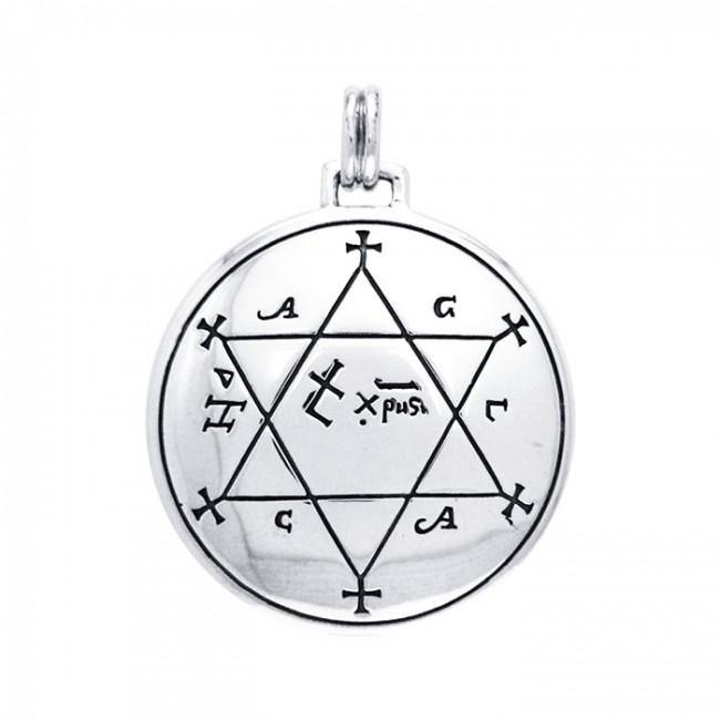 Make Garments Auspicious Solomon Seal Pendant TPD2858
