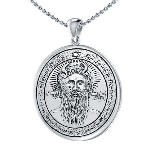 First Pentacle of the Sun Solomon Seal Pendant TPD2868 peterstone.