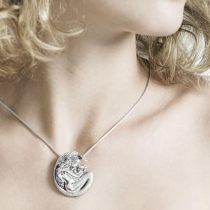 A Loving Motherhood Mermaid by Selina Fenech ~ Sterling Silver Pendant Jewelry TPD289 peterstone.