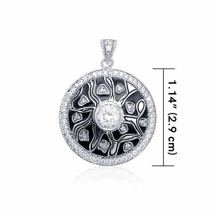 Safari-inspired Silver Pendant TPD3412 peterstone.