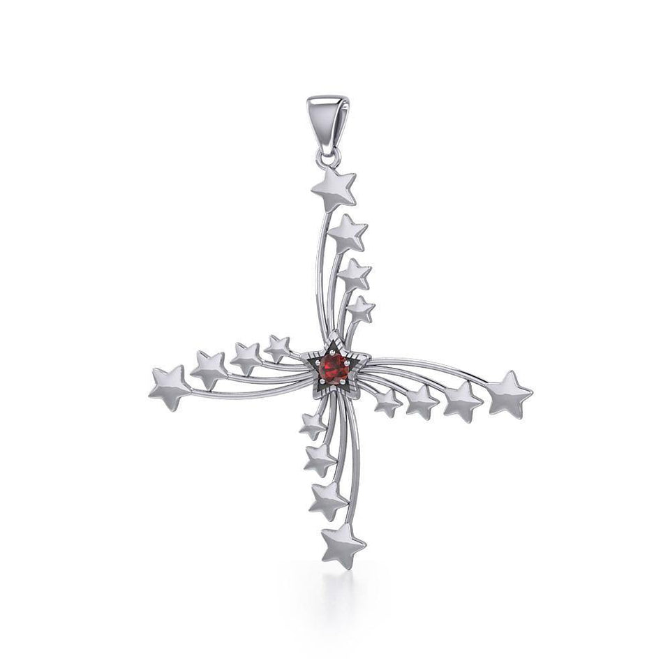 Star Sterling Silver Pendant TPD3511